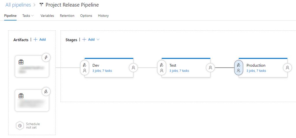 Modifying Azure DevOps Release Pipeline parameters   Rasmus